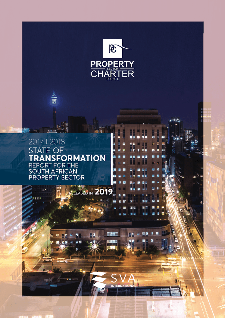 State Of Transformation Report For The South African Property Sector 2017/2018