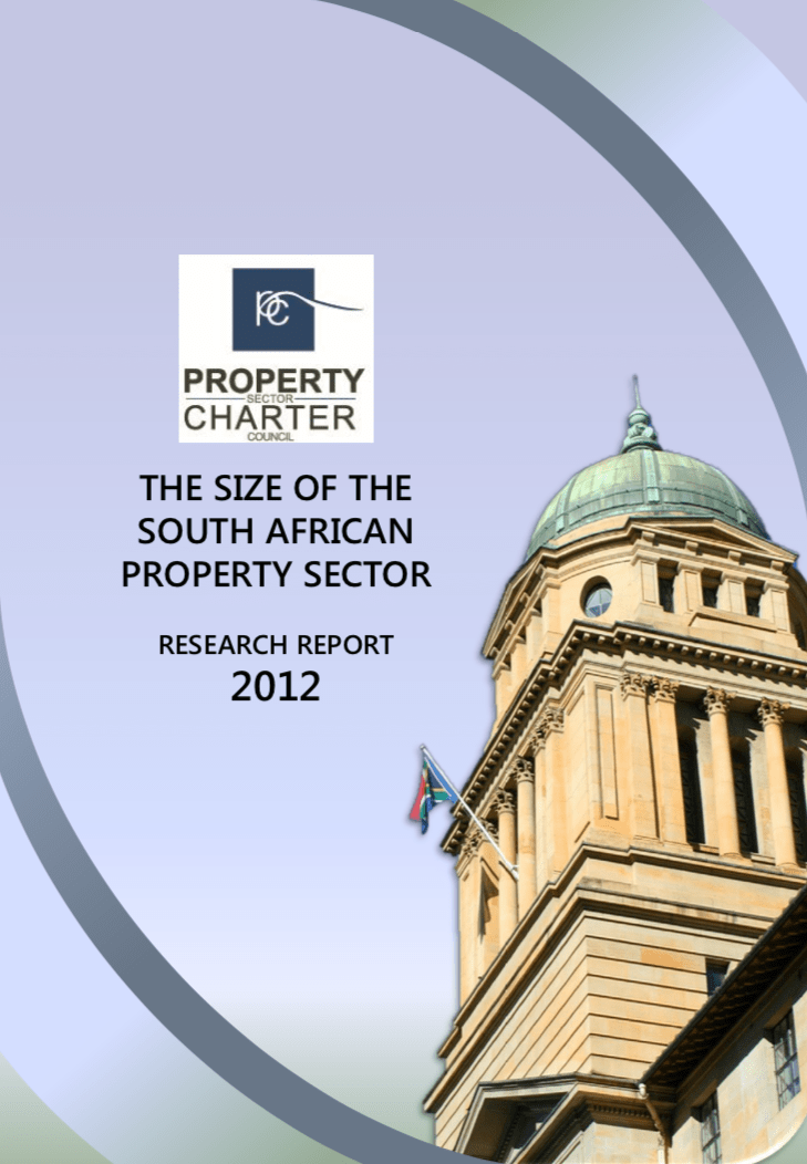 The Size of The South African Property Sector 2012